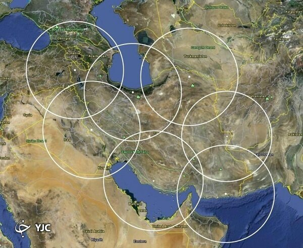رصد دشمنان ایران از فاصله ۳ هزار کیلومتری +تصاویر