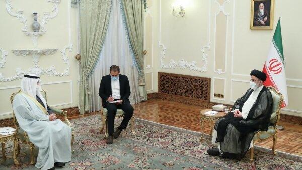 پیام امیر کویت به دست رئیسی رسید /ادامه دیدارهای دیپلماتیک رئیس جمهور