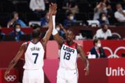 ببینید | بسکتبال آمریکا بر بام المپیک ۲۰۲۰