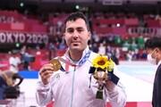 تصاویر | قابهای دیده نشده از گنجزاده قهرمان المپیک در حین خدمترسانی در مناطق محروم