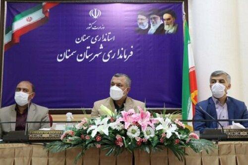 برگزاری مراسم تحلیف شورای شهر سمنان،خراسانیان رئیس شد