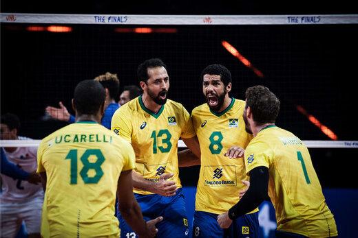 شگفتی در المپیک؛ والیبال برزیل چهارم شد