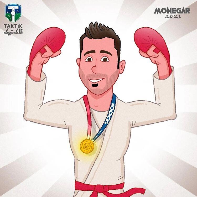 اینم آخرین طلایی کاروان المپیک ایران