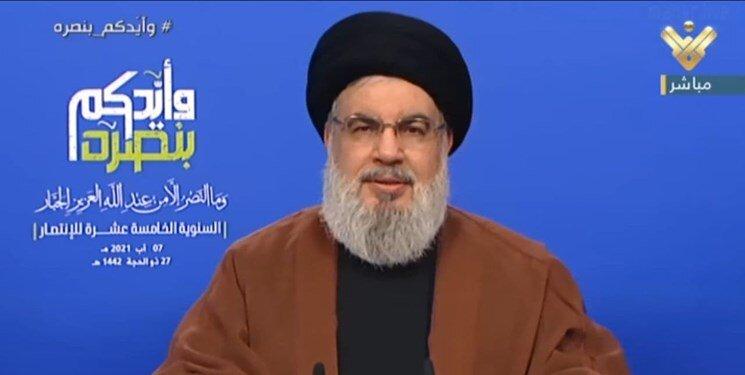 هشدار دبیرکل حزبالله: به هر تجاوزی پاسخ میدهیم/ بزرگترین حماقت اسرائیل جنگ با لبنان است