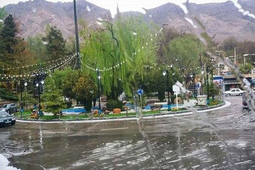 تداوم بارش باران طی امروز و فردا / خیزش گردوخاک در شرق کشور