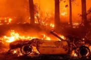 ببینید | تصاویر خودروها و خانههای سوخته در آتشسوزی کالیفرنیا