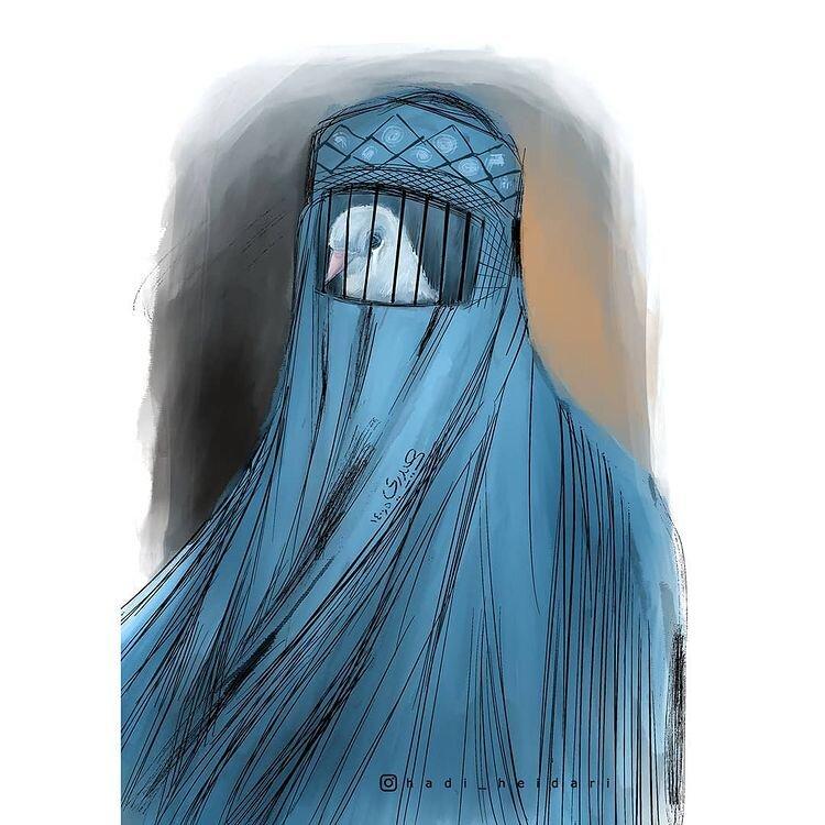 مظلومیت دختران افغانستانی را ببینید!