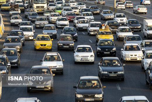 ترافیک تهران با شروع پاییز بیشتر شد