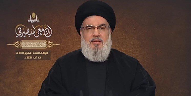 دبیرکل حزبالله:سفارت آمریکا بحران کنونی لبنان را مدیریت میکند؛ دومین کشتی سوخت ایران چند روز دیگر حرکت میکند