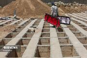 کفن و دفن اجساد در اهواز در دوران کرونا ۳ برابر گذشته است