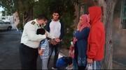 در شوط رخ داد: خانواده افغانی از دست زورگیران نجات یافتند
