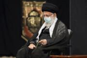 تصاویر   مراسم عزاداری شب عاشورای حسینی با حضور رهبرانقلاب