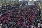 ببینید | تصاویر باشکوه مراسم عاشورای حسینی (ع) در کربلا