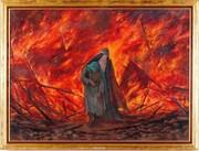 راهی گشوده است میان شعله آتش