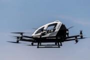 ببینید | رویایی که به حقیقت پیوست؛ پرواز آزمایشی تاکسی هوایی در چین