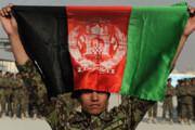 ببینید | واکنش تند نیروهای طالبان نسبت به حمل پرچم افغانستان