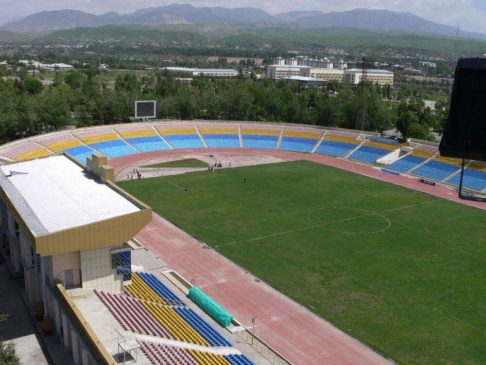 این استادیوم در دوشنبه میزبان پرسپولیس است/عکس
