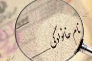 ببینید | آمار بیشترین فراوانی نامهای خانوادگی در ایران