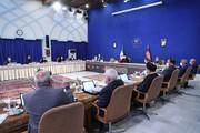 عکس | خوش و بش رئیس جمهور دولت سیزدهم با برخی از وزرای دولت قبل
