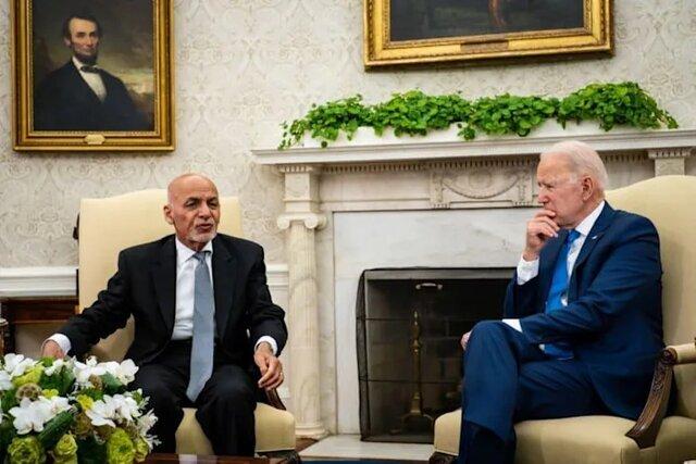 افشای مکالمه آخرین تماس بایدن و غنی قبل از سقوط کابل