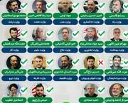کدام وزیر بیشترین رأی را از مجلس گرفت؟ /رأی ناپلئونی به وزیر ورزش