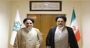 استقبال وزیر دولت روحانی از وزیر اطلاعات جدید /خطیب کارش را آغاز کرد