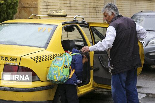 پروانه تاکسی رانندگانی که واکسن نزنند، تمدید نمیشود