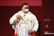 تصویر سیامند رحمان روی سکو پارالمپیک/عکس