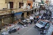 ببینید | انفجار مرگبار و خسارتبار در منطقه برج البراجنه بیروت