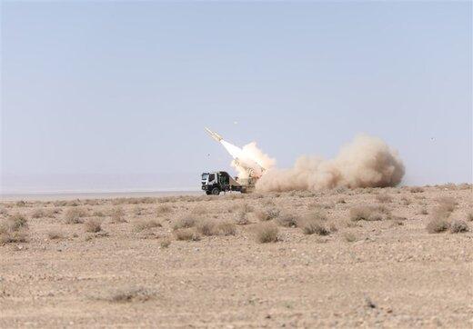 تست موفق نسل جدید سامانه موشکی «مرصاد ۱۶» در کویر مرکزی ایران