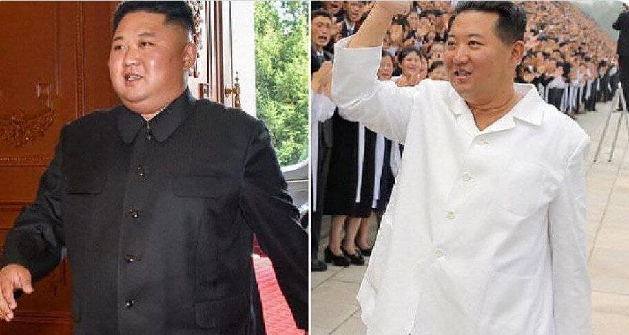 عکس   راز کاهش وزنش شدید رهبر کره شمالی؛ رژیم لاغری یا بیماری؟
