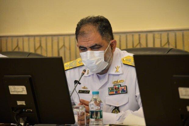 هشدار فرمانده جدید نیروی دریایی ارتش: اجازه نمیدهیم دشمنان امنیت و آرامش منطقه را بهم بریزند