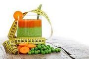 کاهش وزن با آبمیوه