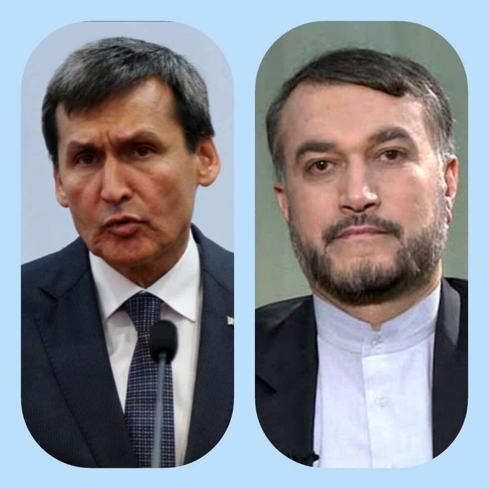 پیام وزیرخارجه ترکمنستان به امیرعبداللهیان
