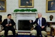 دیدار روسای جمهور آمریکا و اوکراین؛ تعهد بایدن به زلنسکی