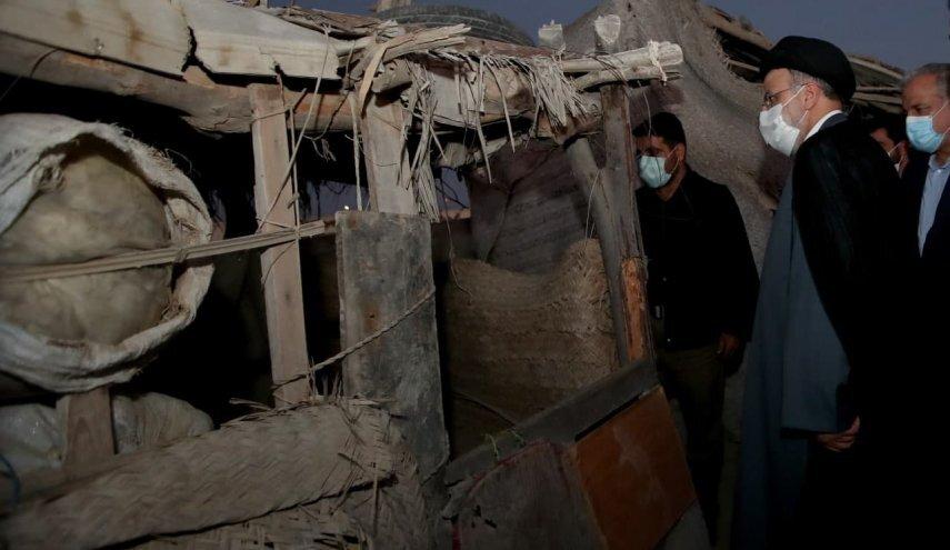 رئیسی:مسأله کپرنشینی درسیستان و بلوچستان باید تا پایان سال جاری سامان یابد