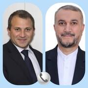 تاکید امیرعبداللهیان بر آمادگی ایران برای ادامه فروش سوخت به لبنان