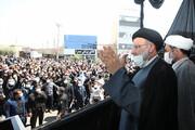 تصاویر   حضور و سخنرانی رئیس جمهور در جمع عزادران امام سجاد (ع) در زابل