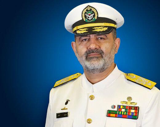 دریادار ایرانی: آماده اجرای ماموریت در هرنقطه هستیم/ تهدیدی پیش روی ما نیست