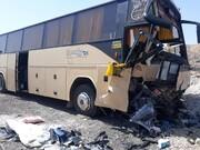 تصادف مرگبار دیگری از اتوبوس با ۴ کشته و ۲۱ مجروح