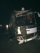 دومین تصادف اتوبوس با تریلی/ دو حادثه مشابه در یک روز