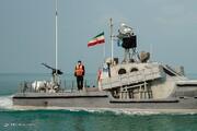رژه اقتدار نیروی دریایی سپاه در خلیجفارس با حضور ۱۷۰ شناور رزمی