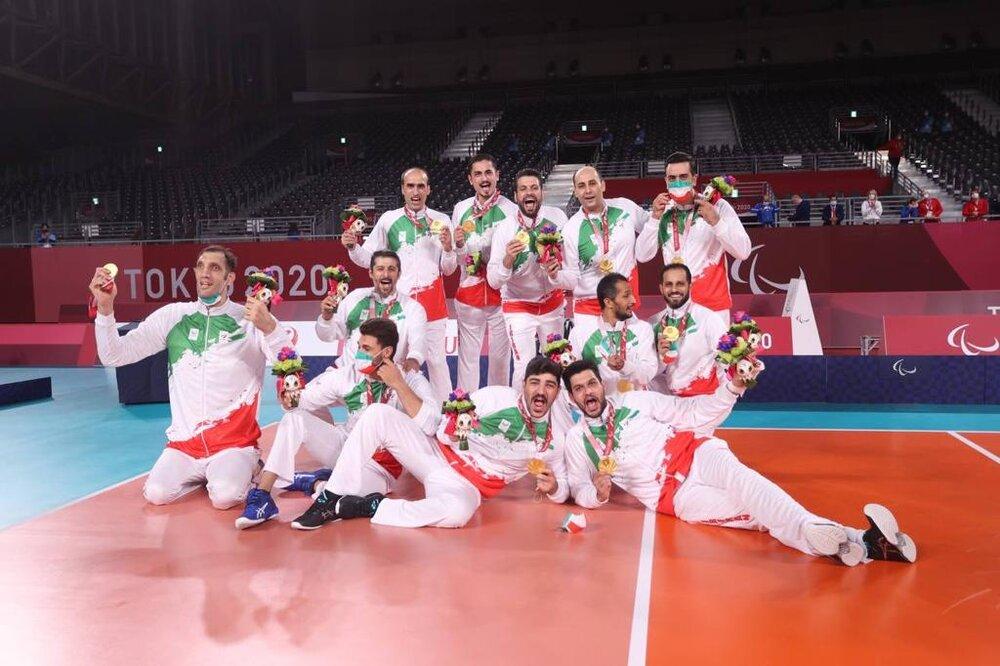 والیبال نشسته ایران در تعقیب ستارههای NBA