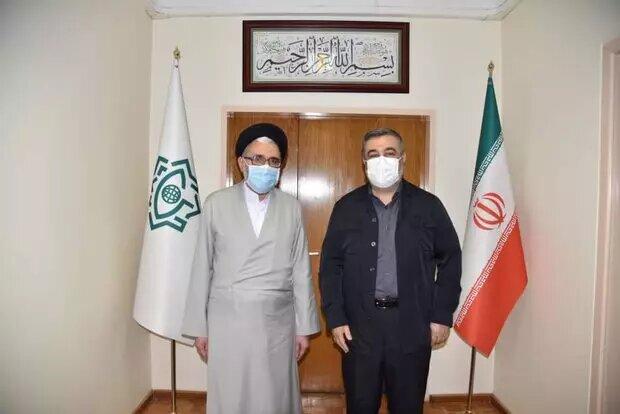 سردار اشتری با وزیر اطلاعات دیدار کرد
