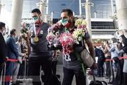 تصاویر   بازگشت قهرمانان پارالمپیک به وطن