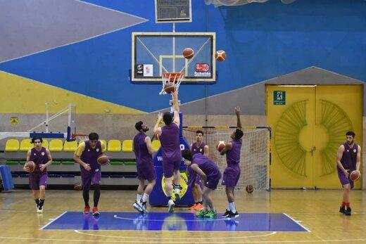 آغاز تمرینات تیم بسکتبال پالایش نفت آبادان زیر نظر سرمربی جدید
