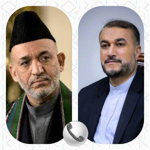 امیرعبداللهیان در گفتگو با کرزی: تنها با دولت فراگیر افغانستان به صلح پایدار میرسد
