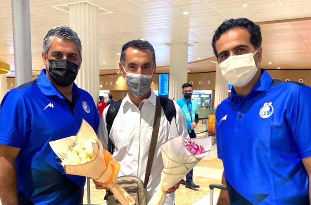 دستیار ایتالیایی مجیدی به امارات رسید/عکس
