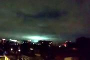 ببینید | ظهور نورهای عجیب در زمان زلزله ۷ریشتری مکزیک