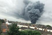 ببینید | انفجار مهیب در «پارک استریت» انگلیس